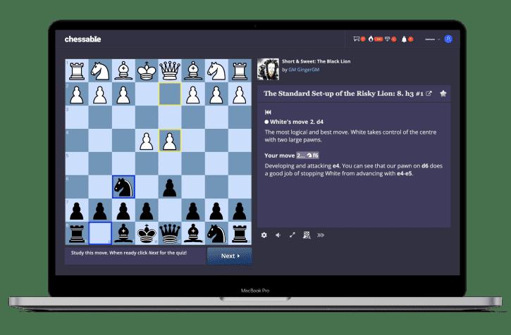 Chessable MoveTrainer