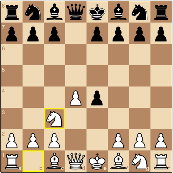 The starting position of the Blackmar-Diemer Gambit