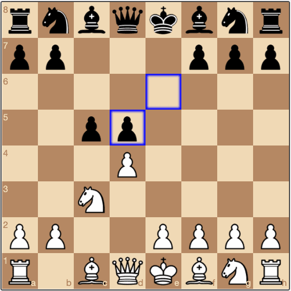 In the Tarrasch Defence, Black can end up with an Isolated Queen's Pawn