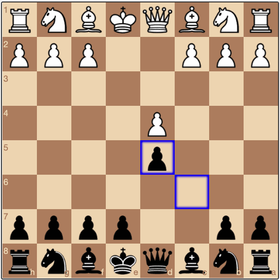 A Caro-Kann Exchange Variation position provides a solid opening for Black
