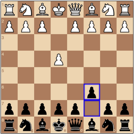 A Caro-Kann opening from the Black perspective