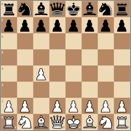The English Opening first move, 1.c4