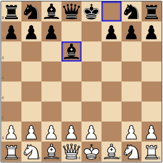 In the mainline of the From Gambit after the Bird, White is in trouble