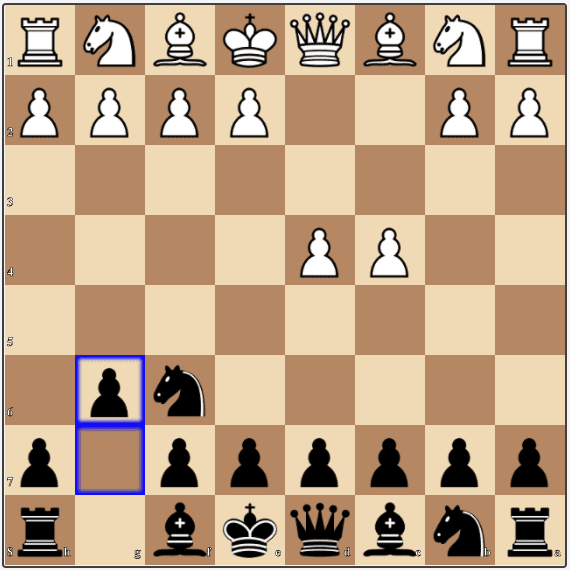 The King's Indian Defense for Black is a very good opening