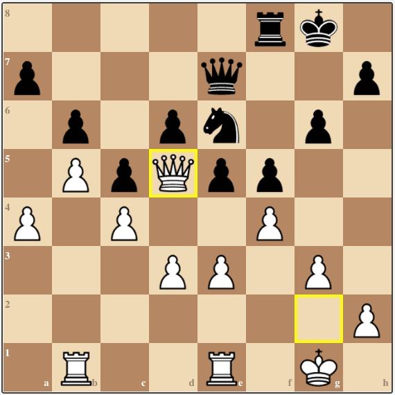 After 34.Qd5, Alexander resigned.