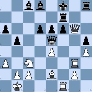 J. Van Foreest – G. Kasparov