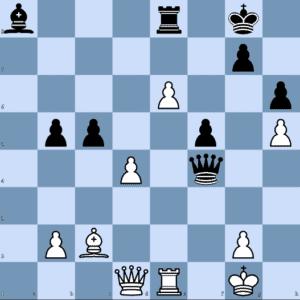 How did Karjakin achieve a decisive advantage?