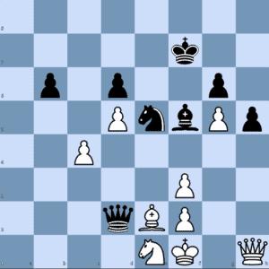 V. Fedoseev – M. Carlsen: White Resigns