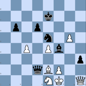 V. Fedoseev – M. Carlsen: Black to Play and Win