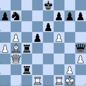 A. Firouzja – P. Harikrishna: Black to Play and Win